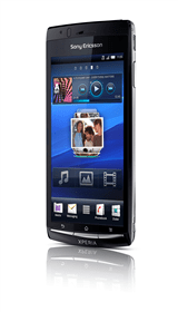 sony ericsson arc available on three from april