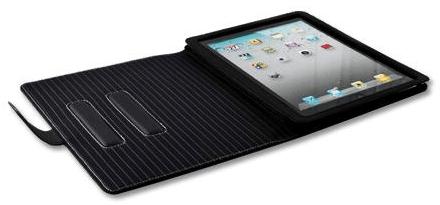 proporta ipad2 leather case open flat