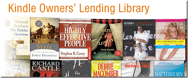 Amazon Unveils Kindle Owners Lending Library