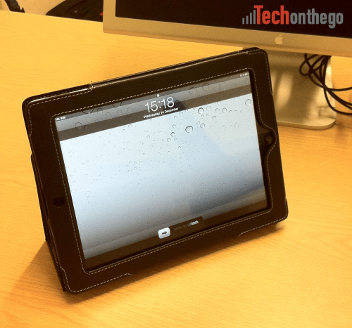 snugg ipad2 leather case vertical