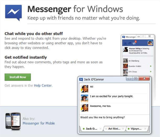 Download <b>Facebook</b> <b>for</b> <b>PC</b>