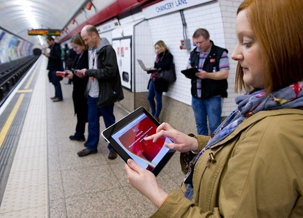 virgin media and transport for london enable free wifi on london underground