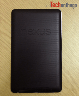 nexus7 soft grip back casing