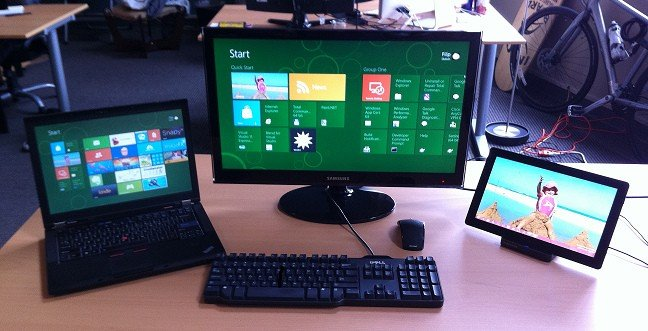 My Windows 8 Workstation Setup - a Laptop and a Slate with Full ...