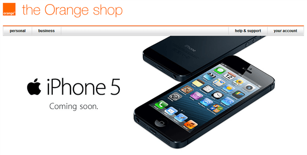 ee will carry the iphone5 with 4g for roange and t-mobile customers