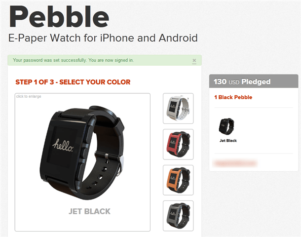 pebble e-paper watch for iphone and android nearly ready for shipping
