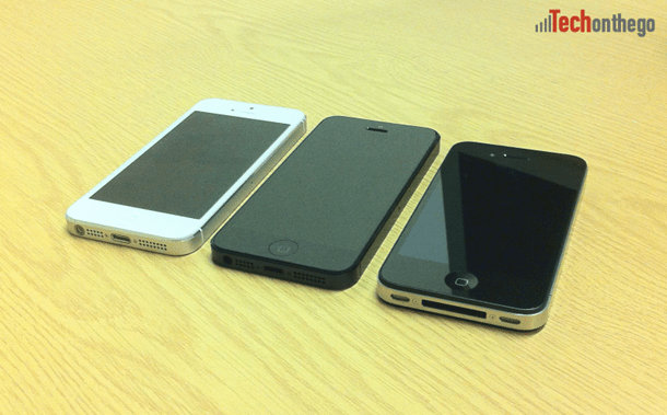 iphone5 white and black models with iphone4s