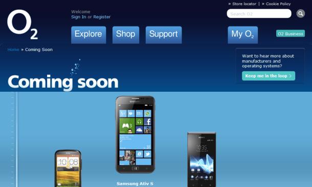 Samsung ATIV S Coming Soon To O2