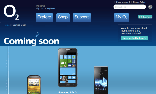 samsung ativ s windows phone 8 coming soon to o2