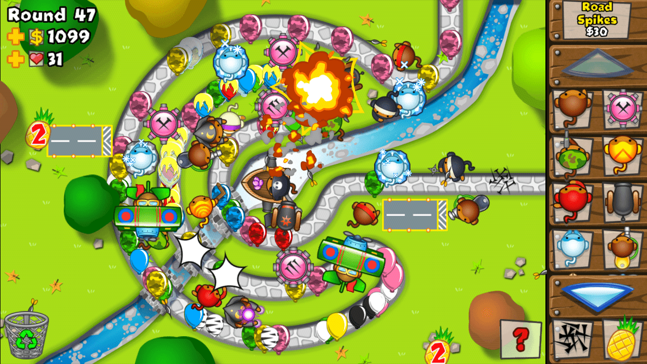 bloons tower defense 5 math games