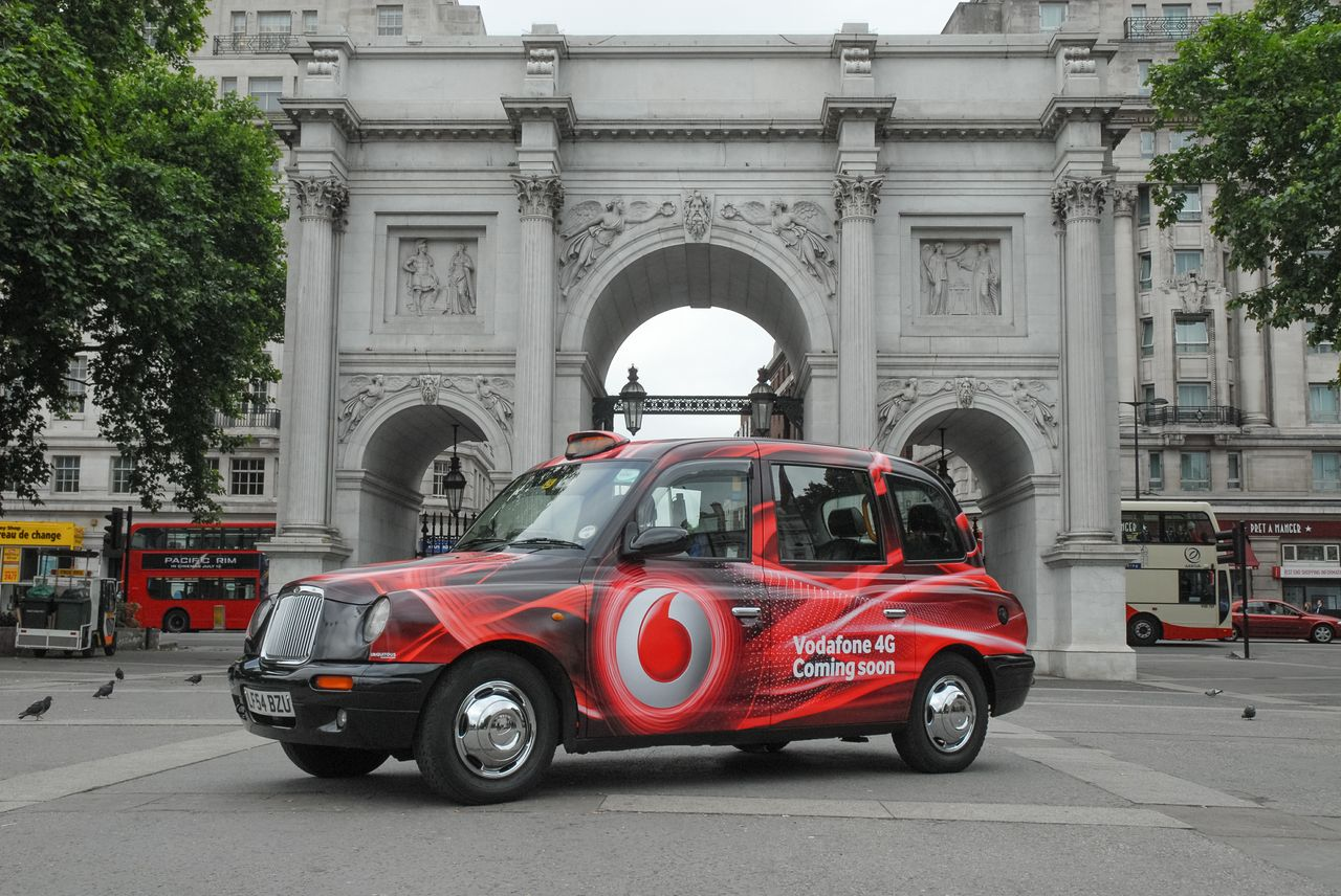 vodafone 4g taxi