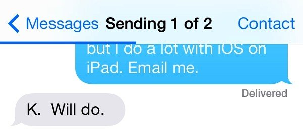 how to fix the imessage problem