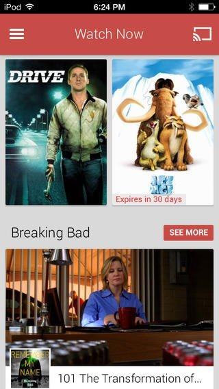 Google Makes Play Movies & TV Available On iPhone And iPad