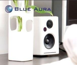 blue aura logo