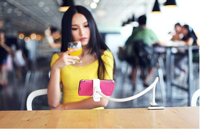 Flexible Phone Clip Holder For Mobile Phones - Featured