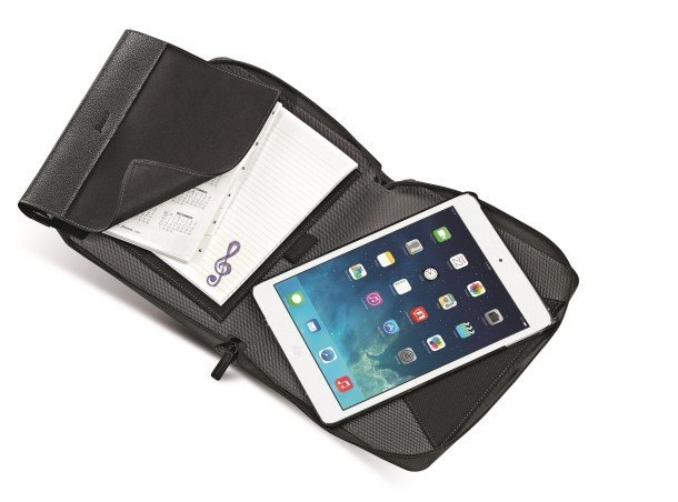 Fusion iPad Organiser Black