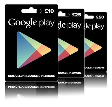 win £80 google play vouchers