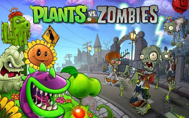 4 iOS Apps to Keep You Entertained Everywhere - Plants v Zombies