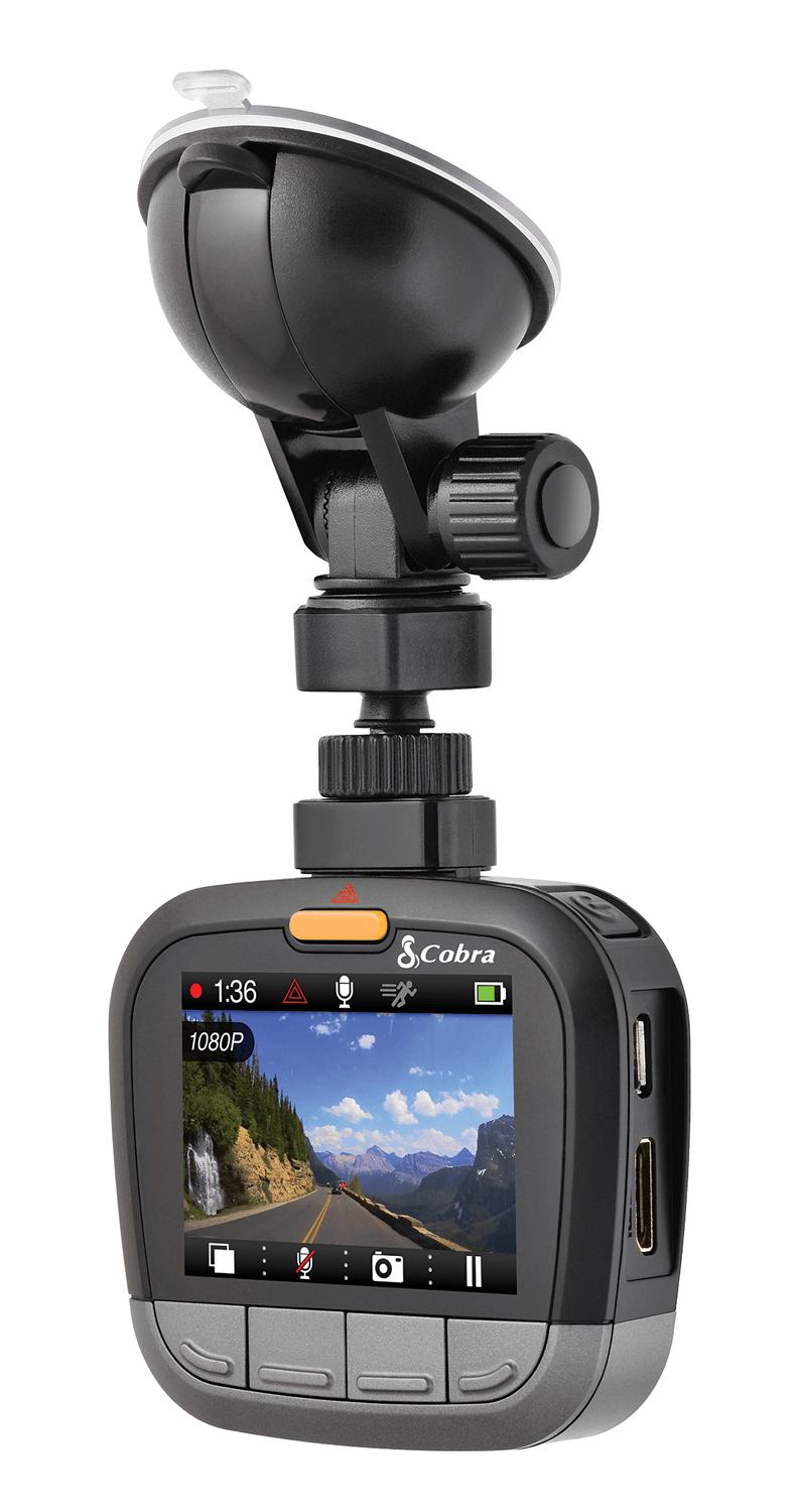 Cobra CDR 835 dashcam review