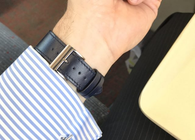 Noreve Apple Watch Leather Strap Review - Watch On Underneath