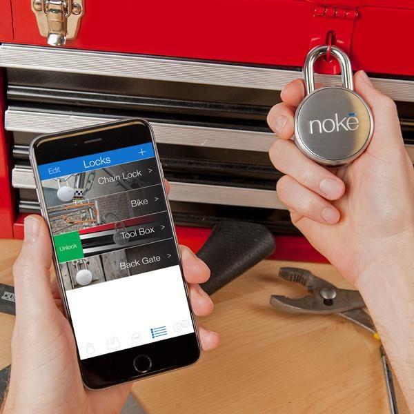 Noke Smart Bluetooth Padlock - Smartphone Control