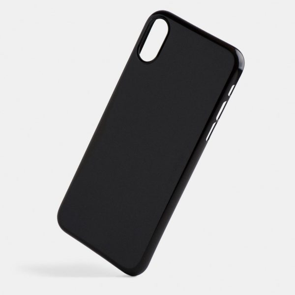 totallee jet black iPhoneX case