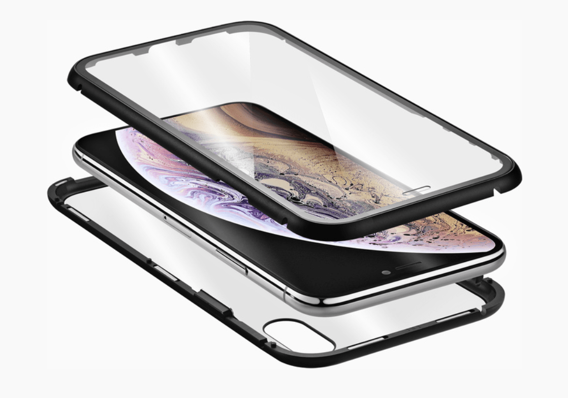 QDOS Infinity Glass iPhone Case