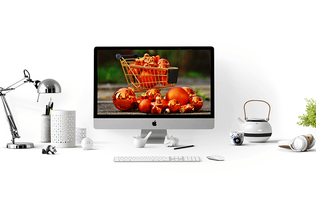 online shopping mac desktop basket