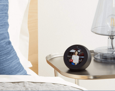 Amazon Echo Spot - Bluetooth speaker with Alexa and a screen