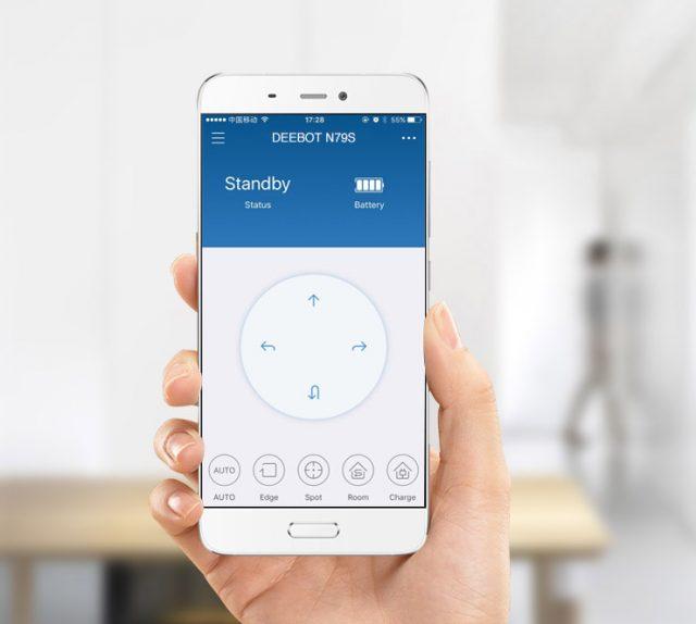 DEEBOT N79S mobile app