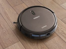 DEEBOT N79S wood flooring