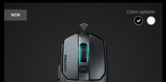 roccat kain 200 wireless mouse
