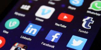 apps on a smartphone - social media - online presence